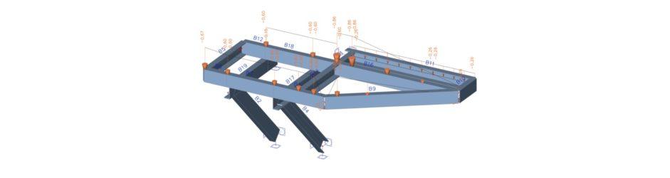 Přístupové plošiny v kotelně ECHVA