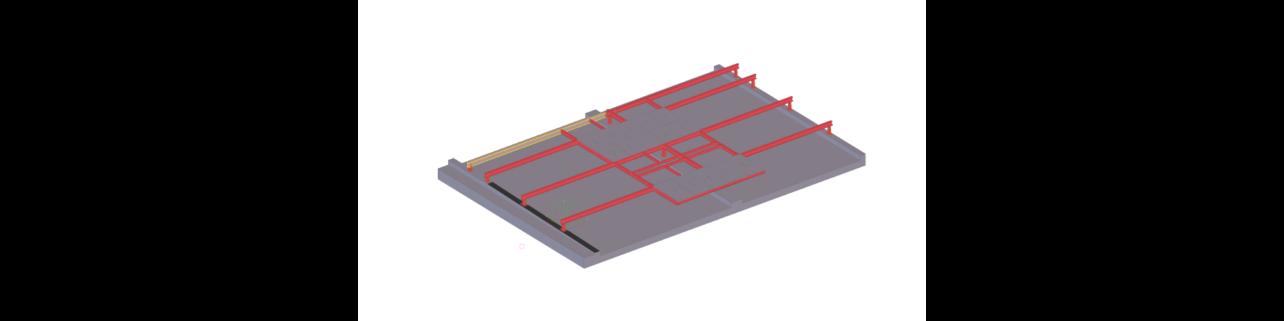 Ocelové plošiny pro vzduchotechniku