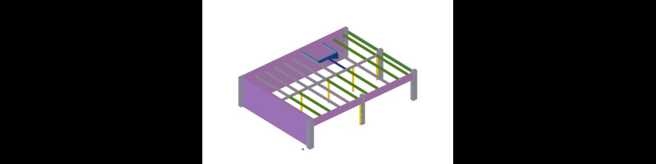 Ocelová stropní konstrukce