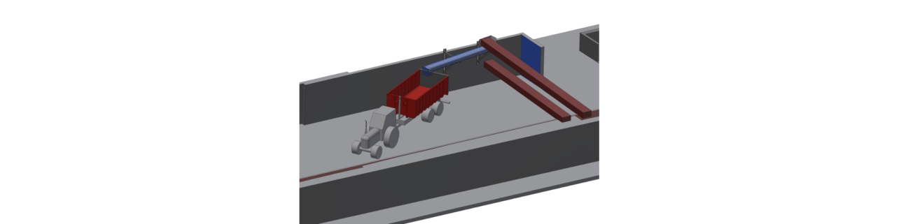 Semiproduct storage modification